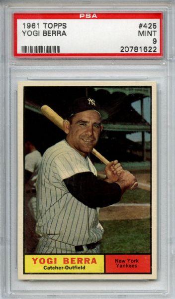 1961 Topps Berra