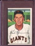 1952 Bowman 234 Fred Fitzsimmons CO EX #D52263