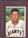 1952 Bowman 234 Fred Fitzsimmons CO EX #D52261
