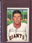1952 Bowman 234 Fred Fitzsimmons CO EX #D52265