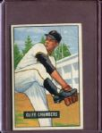 1951 Bowman 131 Cliff Chambers EX #D3759
