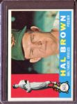 1960 Topps 89 Hal Brown EX #D4918