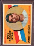 1960 Topps 121 Camilo Carreon RS RC EX #D4963