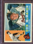 1960 Topps 189 Don McMahon EX #D5125