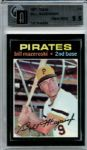 1971 Topps 110 Bill Mazeroski GAI GEM MINT 9.5
