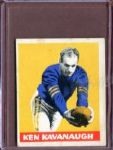 1948 Leaf 23A Ken Kavanaugh YS RC (Yellow stripes on sleeves) VG-EX #D178118