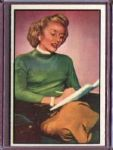 1953 Bowman Radio & TV Stars 36 Lucille Norman NM #D186890