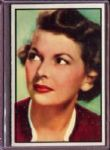 1953 Bowman Radio & TV Stars 60 Virginia Dwyer NM #D186894