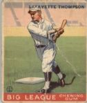 1933 Goudey 13 Fresco Thompson RC POOR #D218225