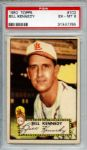 1952 Topps 102 Bill Kennedy PSA EX-MT 6