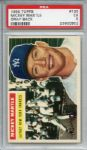 1956 Topps 135 Mickey Mantle Gray Back PSA EX 5