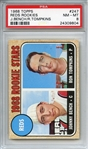 1968 Topps 247 Johnny Bench RC PSA NM-MT 8