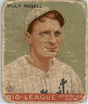 1933 Goudey 11 Billy Rogell RC POOR #D293929