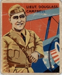 1933 National Chicle Sky Birds 17 Lt Douglass Campbell POOR #D295549