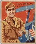 1933 National Chicle Sky Birds 17 Lt Douglass Campbell POOR #D295551