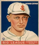 1933 Goudey 101 Richard Coffman RC VG-EX #D299145