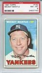 1967 Topps 150 Mickey Mantle PSA NM-MT 8