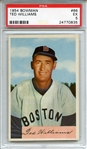 1954 Bowman 66 Ted Williams PSA EX 5