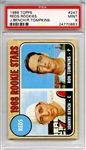 1968 Topps 247 Johnny Bench RC PSA MINT 9