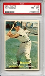 1957 Topps 102 Ray Boone PSA NM-MT 8