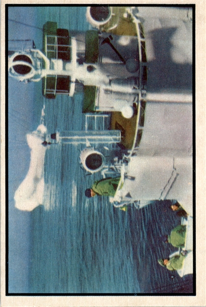 1954 Bowman Power for Peace 1 Iceberg Patrol EX-MT #D372994