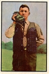 1954 Bowman Power for Peace 16 Army Takes a Vest NM #D376226
