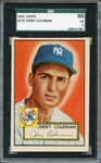 1952 Topps 237 Jerry Coleman SGC EX 60 / 5