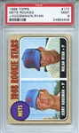 1968 Topps 177 Nolan Ryan RC PSA MINT 9