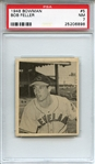1948 Bowman 5 Bob Feller RC PSA NM 7
