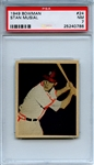 1949 Bowman 24 Stan Musial PSA NM 7