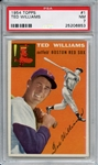 1954 Topps 1 Ted Williams PSA NM 7