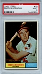 1961 Topps 10 Brooks Robinson PSA MINT 9