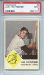 1963 Fleer 8 Carl Yastrzemski PSA MINT 9