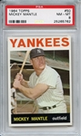 1964 Topps 50 Mickey Mantle PSA NM-MT 8