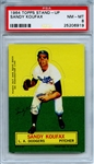 1964 Topps Stand-Up Sandy Koufax PSA NM-MT 8