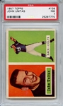 1957 Topps 138 Johnny Unitas RC PSA NM 7