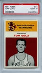 1961 Fleer 14 Tom Gola PSA MINT 9