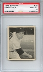 1948 Bowman 26 Frank Shea PSA NM-MT 8