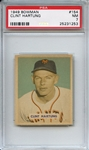 1949 Bowman 154 Clint Hartung PSA NM 7