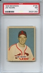1949 Bowman 190 Jim Hearn PSA NM 7