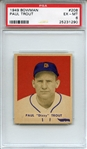 1949 Bowman 208 Paul Trout PSA EX-MT 6