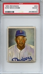 1950 Bowman 23 Don Newcombe RC PSA GOOD 2