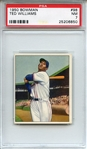 1950 Bowman 98 Ted Williams PSA NM 7