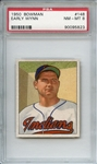 1950 Bowman 148 Early Wynn PSA NM-MT 8