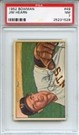 1952 Bowman 49 Jim Hearn PSA NM 7