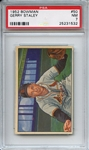 1952 Bowman 50 Gerry Staley PSA NM 7