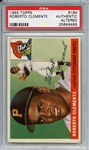 1955 Topps 164 Roberto Clemente RC PSA Authentic Altered
