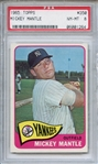 1965 Topps 350 Mickey Mantle PSA NM-MT 8