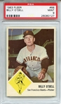 1963 Fleer 66 Billy ODell PSA MINT 9