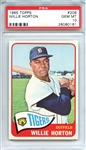 1965 Topps 206 Willie Horton PSA GEM MT 10